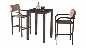 Shop By Category - Outdoor Bar Sets - Barite Bar Set for 2