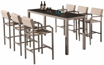Shop By Category - Outdoor Bar Sets - Barite Bar Set For 6