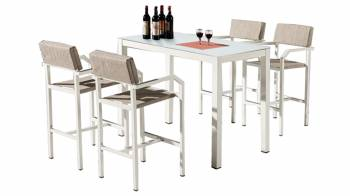 Shop By Category - Outdoor Bar Sets - Barite Bar Set for 4
