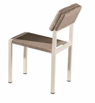 Barite Armless Dining Chair - Image 1