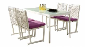 Cali Dining Set For 4 - Image 1