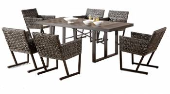 Shop By Collection and Style - Cali Collection - Cali Dining Set For Six