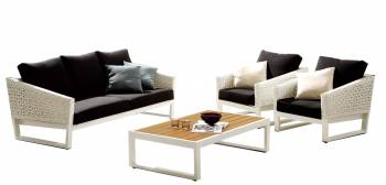 Shop By Category - Outdoor Seating Sets - Cali Sofa Set