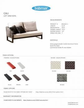 Cali Left Arm Sofa - Image 2
