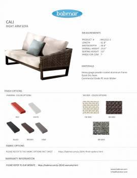 Cali Right Arm sofa - Image 2
