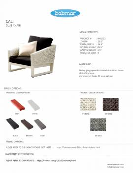 Cali Club Chair - Image 2