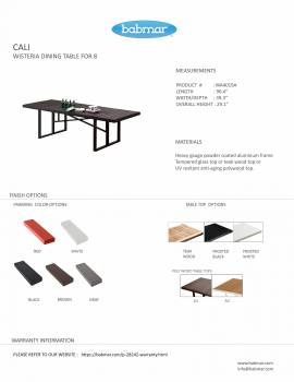 Cali Dining Table For Eight - Image 2