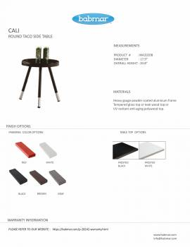 Cali Taco Side Table - Image 2