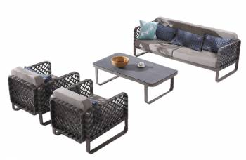Shop By Collection - Dresdon Collection - Dresdon Set for 5 with 2 Club Chairs