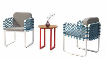 Shop By Category - Outdoor Seating Sets - Dresdon Seating Set for 2 with woven sides