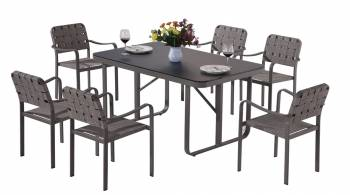 Shop By Category - Outdoor Dining Sets - Edge Dining Set for 6