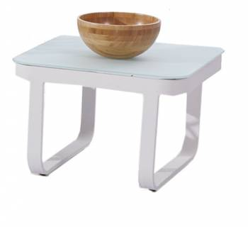Individual Pieces - Coffee Tables, Side Tables And Ottomans - Dresdon Square Side Table
