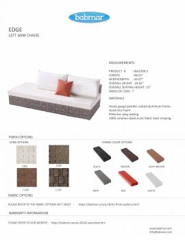 Edge Sectional Sofa Set for 5 with built in Side Table - Image 6