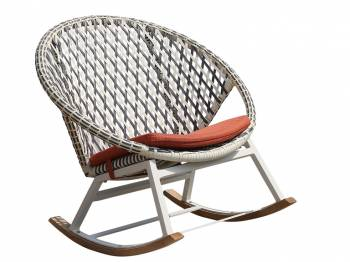 Shop By Collection - Evian Collection - Evian Round Rocking Club Chair