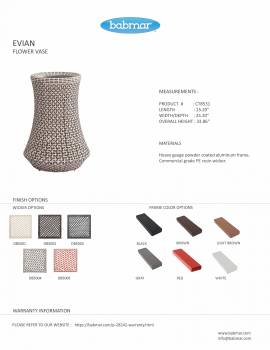 Evian Woven Vase - Image 3