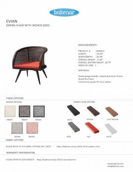 Evian Low Chair - Image 2