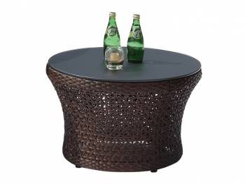Individual Pieces - Coffee Tables, Side Tables And Ottomans - Evian Medium Round Coffee Table