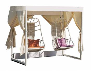 Shop By Category - Outdoor Swings - Fatsia Double Swing