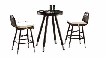 Shop By Category - Outdoor Bar Sets - Fatsia Bar Set For Two