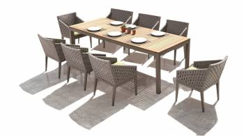 Shop By Collection - Florence Collection - Florence Dining Set for 8