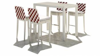 Shop By Category - Outdoor Bar Sets - Florence Bar Set for 4