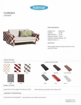 Florence Loveseat Set