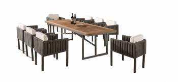 Shop by Category  - Outdoor Dining Sets - Garnet Dining Set For 8