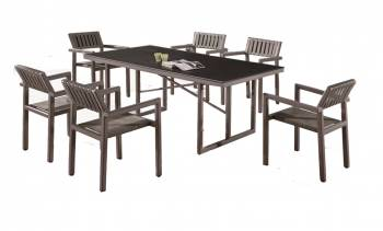 Shop by Category  - Outdoor Dining Sets - Garnet Dining Set For 6