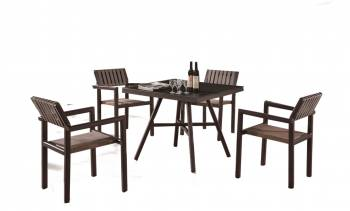 Shop By Category - Outdoor Dining Sets - Garnet Dining Set For 4