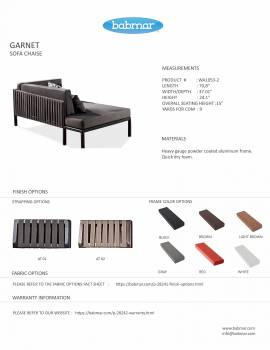Garnet Right Arm Chaise - Image 2