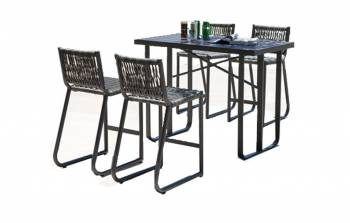 Shop By Category - Outdoor Bar Sets - Haiti Bar Set for 4