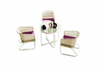 Shop By Collection - Haiti Collection - Haiti Dining Set For 3