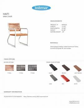 Haiti Chair Set For 2