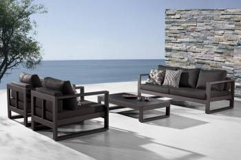 Amber Sofa Set for 5 with 2 Club Chairs - QUICK SHIP - Image 5