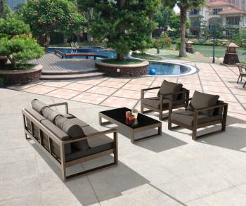 Amber Sofa Set for 5 with 2 Club Chairs - QUICK SHIP - Image 4