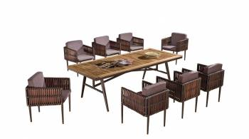 Kitaibela Dining Set for 8