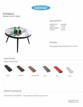 Kitaibela Round Sofa Set