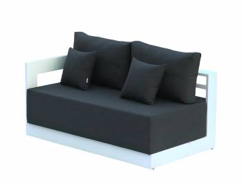 Individual Pieces - Sofa And Chair Seating - Babmar - Lusso Left Arm Sofa