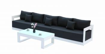 Babmar - Lusso Long Sofa Set