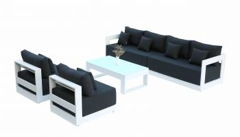 Babmar - Lusso Long Sofa With Armless Middles
