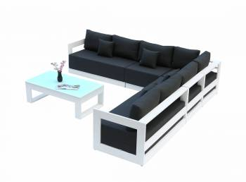Babmar - Lusso XL Sectional Sofa Set