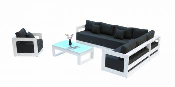 Babmar - Lusso Sectional Sofa Set - Image 1