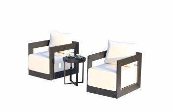 Babmar - Lusso Club Chair Set