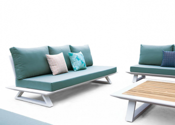 Luxe Sofa Set for 9 with Coffee Table - Image 4