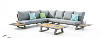 Luxe Sectional Set With Built-In Side Tables - Image 2
