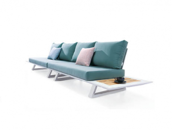 Luxe Loveseat Set With Built-In Side Tables - Image 3