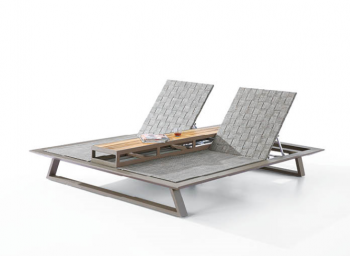 Shop By Category - Outdoor Chaise Lounges - Luxe Double Chaise