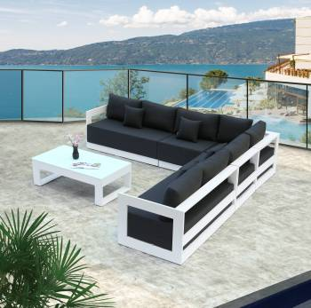 Babmar - Lusso XL Sectional Sofa Set - Image 2