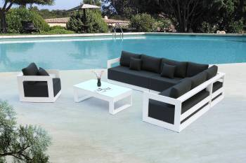 Babmar - Lusso Sectional Sofa Set - Image 2