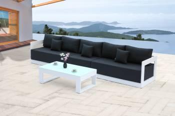 Babmar - Lusso Long Sofa Set - Image 2